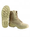 TACTICAL BOOT M.YKK ZIPPER KHAKI