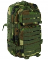 US ASSAULT PACK SM WOODLAND